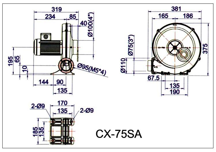 CX-A新款中压风机厂家